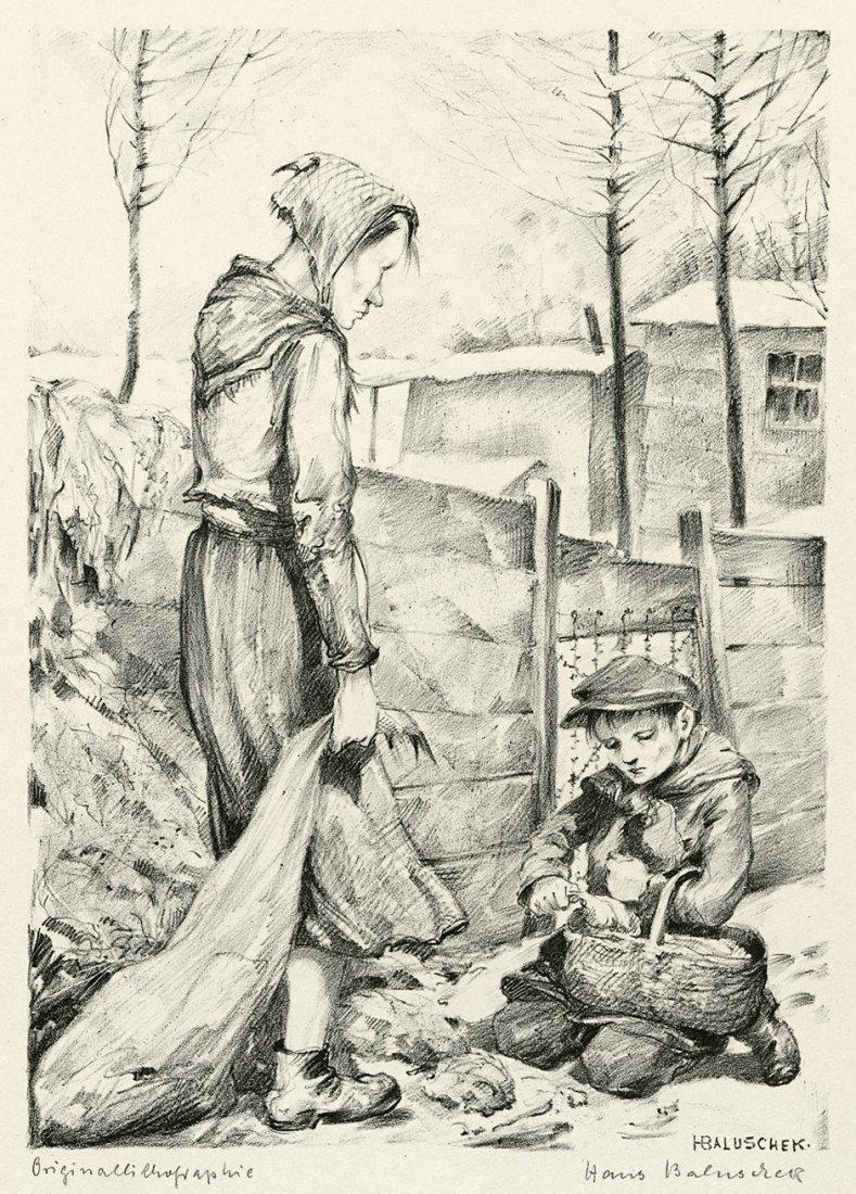 Baluschek, Hans: Abfall
