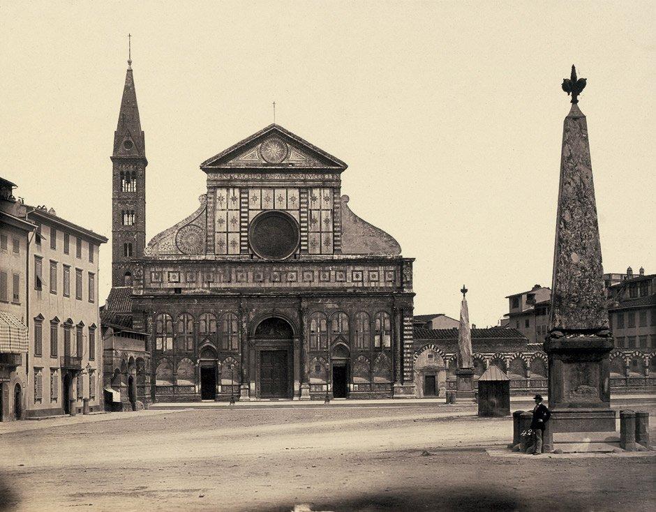 Alinari, Leopoldo: Santa Maria Novella, Florence