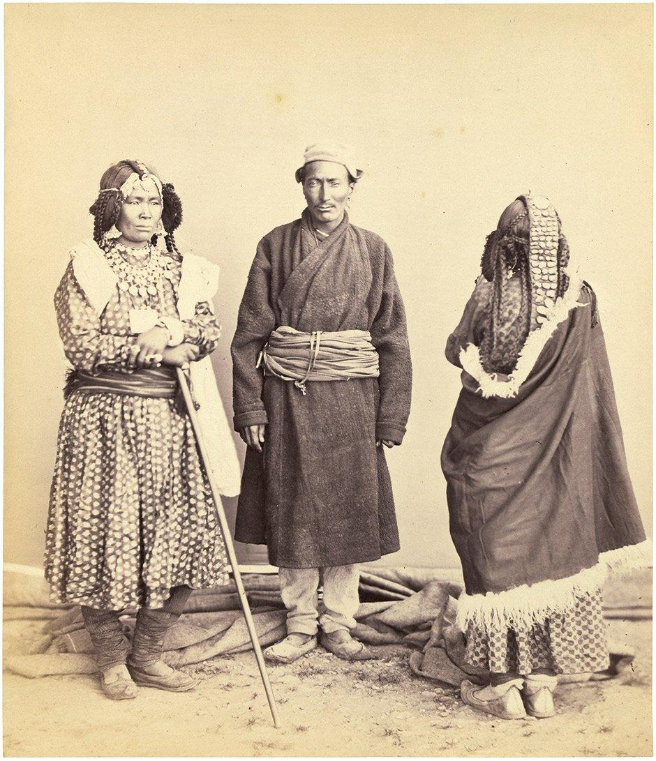 Bourne, Samuel and Charles Shepherd: Three Tibetans in