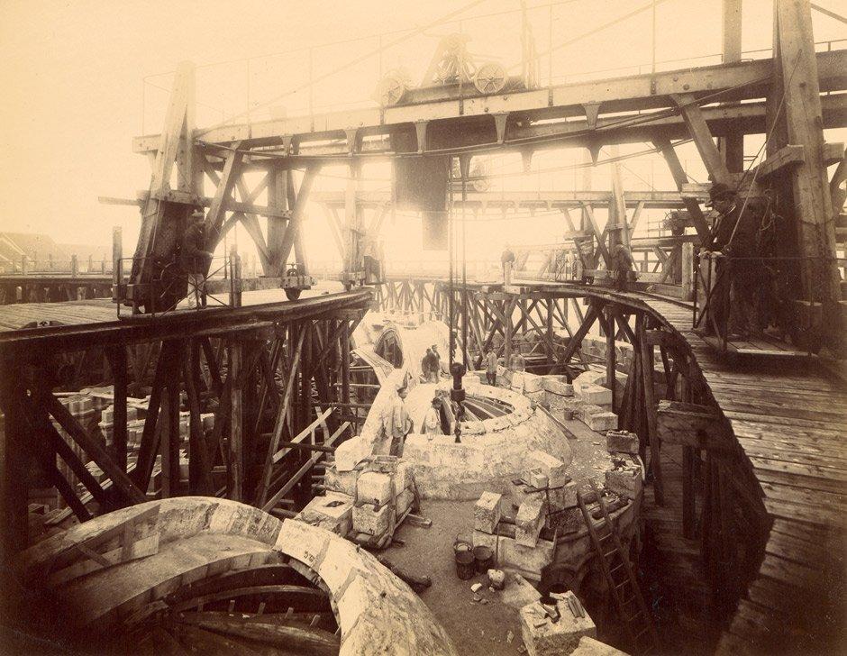Durandelle, Louis-Emile: Construction of Sacre Coeur