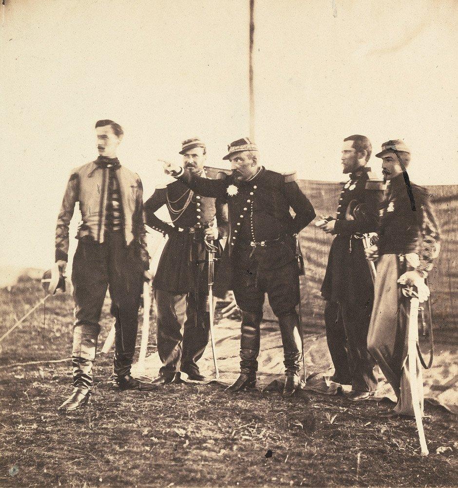 Fenton, Roger: General Bosquet and Staff; Brigadier Gen