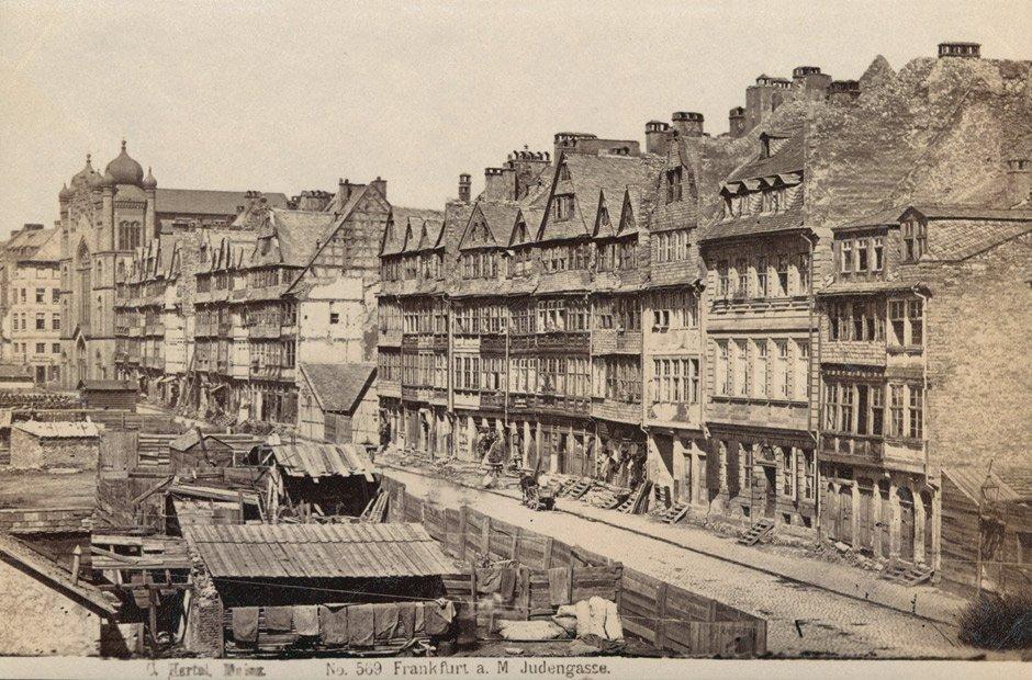Frankfurt / Main: Views of the Judengasse, Frankfurt