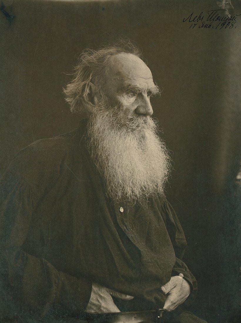 Tolstoy, Leo: Portrait of Leo Tolstoy