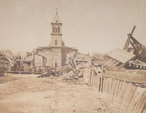 4009: Baldus, Édouard: The Floods of 1856. Church of Sa