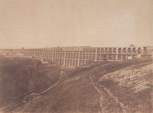 4010: Baldus, Édouard: Viaduc de la Suize