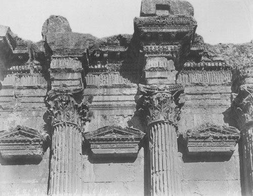 4017: Bonfils, Felix: Baalbec and Damascus