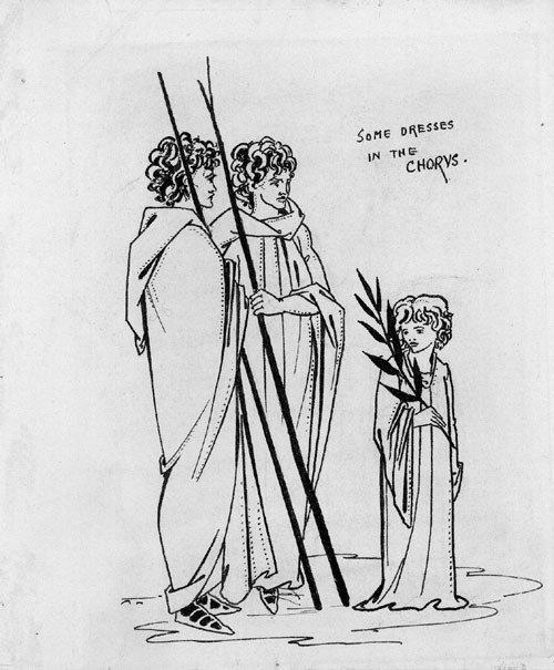 5677: Beardsley, Aubrey: Some dresses in the Chorus