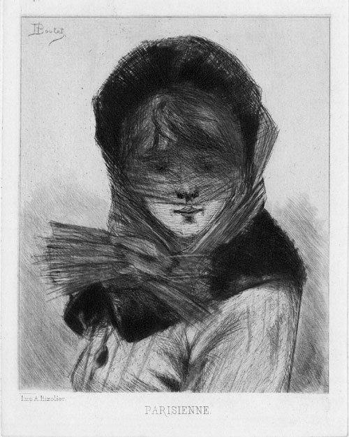 5683: Boutet, Henri: Types de Parisiennes