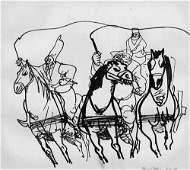6753: Hegenbarth, Josef: Illustration zu Nikolai Gogol,