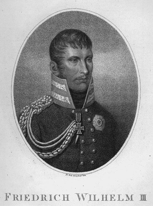 666: Friedrich Wilhelm III. und : Gattin Luise