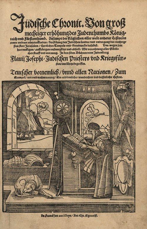 815: Josephus Flavius: Jüdische Chronic