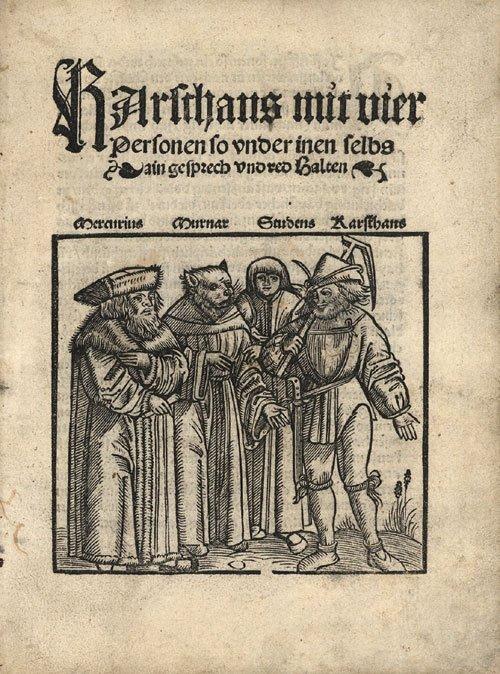 816: Karsthans mit vier Personen : so under inen selbs