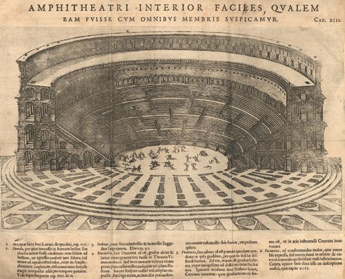 820: Lipsius, Justus: De Amphitheatro Liber