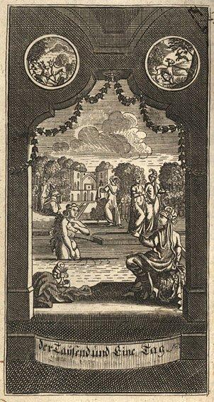 1725: Petis de la Croix, François : Tausend und Ein Tag