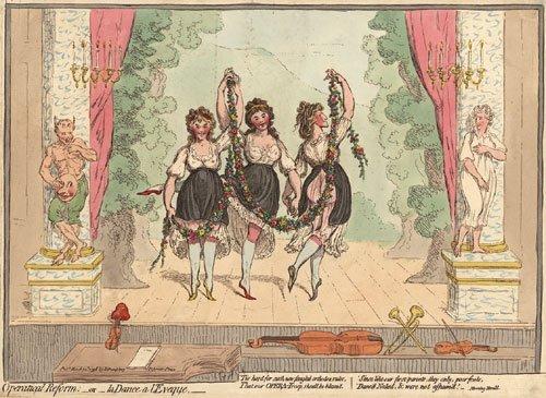 1889: Ballett: Modern Grace; La dance d l''Eveque