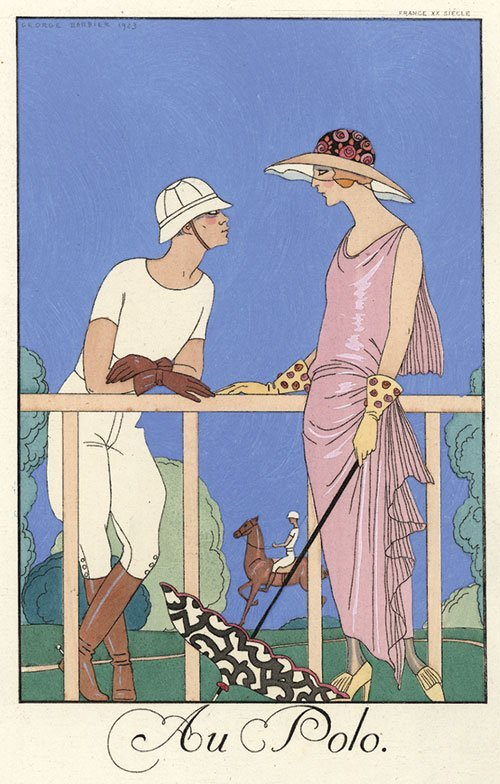 2523: Barbier, George: Falbalas & Fanfreluches ... 1924