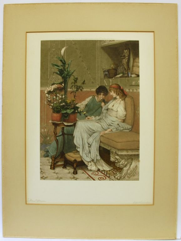 5639: Alma-Tadema, Sir Lawrence: Calla