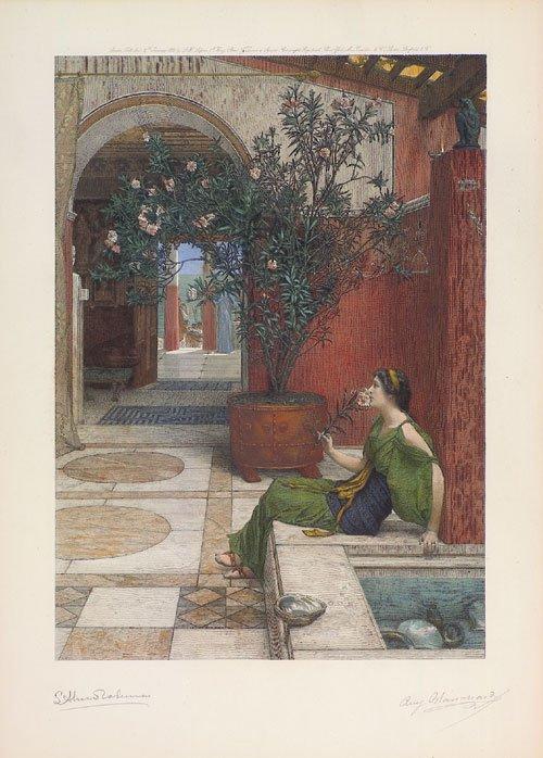 5640: Alma-Tadema, Sir Lawrence: Der Oleander