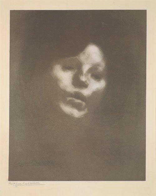 5651A: Carrière, Eugène: Marguerite Carrière