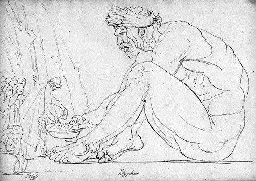 5654: Deutsch, um 1800: Odysseus mit seinen Gefährten