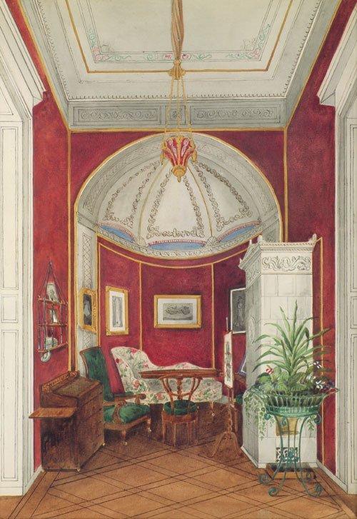 5658: Deutsch, um 1840: Kleiner Salon