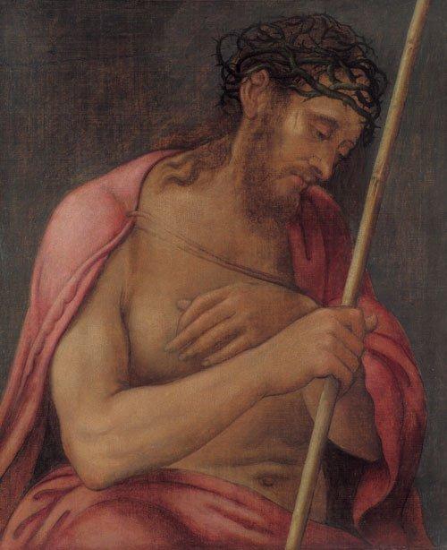 5927: Venezianisch, Ende 16. Jh.: Christus als Schmerze