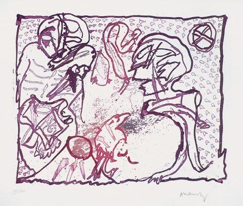 6504: Alechinsky, Pierre: Pour Malcolm Lowry