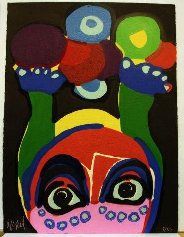 6509: Appel, Karel: Circus (Jongleur)