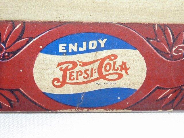 1940'S PEPSI-COLA SELF FRAMING ICE SKATER ZOE MOZERT - 5