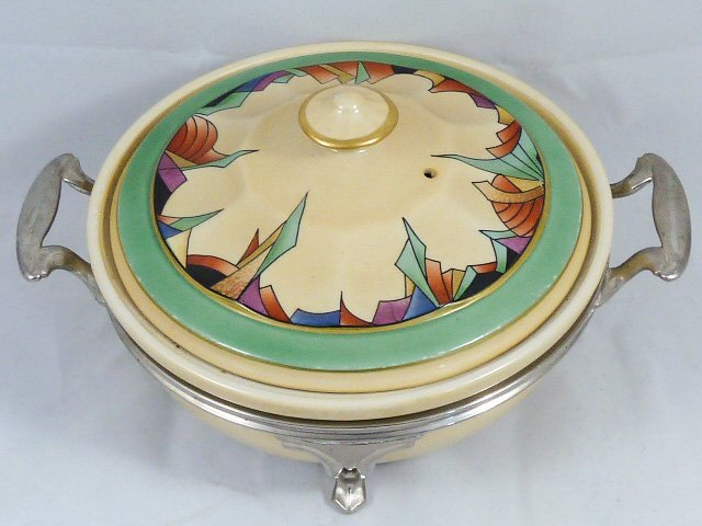 ROYAL ROCHESTER MODERNISTIC PIE PLATE & CASSEROLE - 3