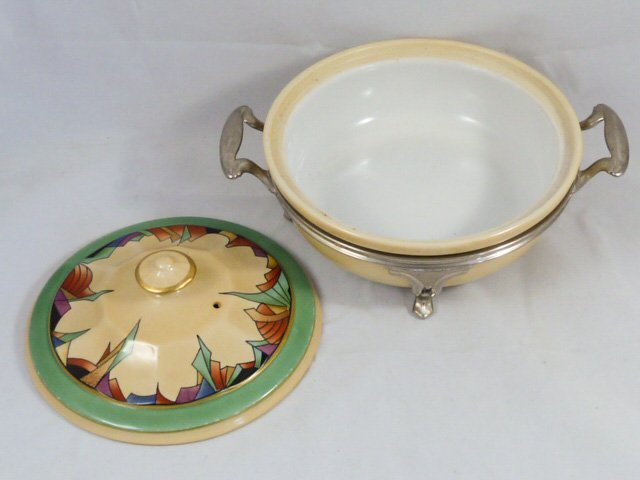 ROYAL ROCHESTER MODERNISTIC PIE PLATE & CASSEROLE - 4