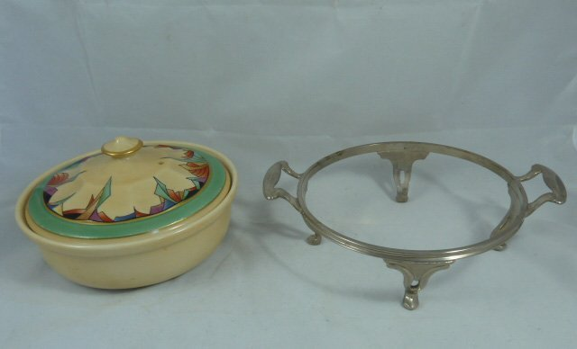 ROYAL ROCHESTER MODERNISTIC PIE PLATE & CASSEROLE - 5