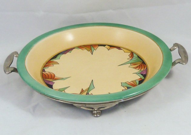 ROYAL ROCHESTER MODERNISTIC PIE PLATE & CASSEROLE - 6