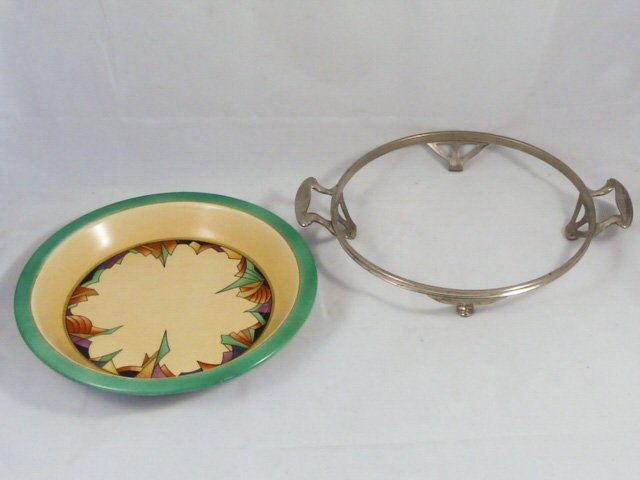 ROYAL ROCHESTER MODERNISTIC PIE PLATE & CASSEROLE - 7