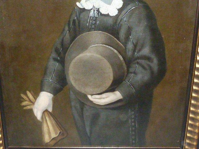 17TH CENTURY O/C PORTRAIT YOUNG BOY IN PERIOD DRESS - 6