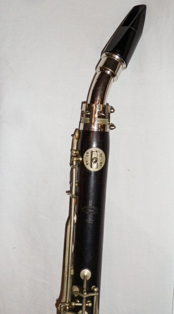 1900'S ALTO CLARINET THIBOUVILLE FRERES IVRY (EURE) - 3