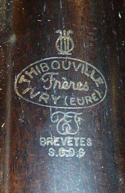 1900'S ALTO CLARINET THIBOUVILLE FRERES IVRY (EURE) - 6
