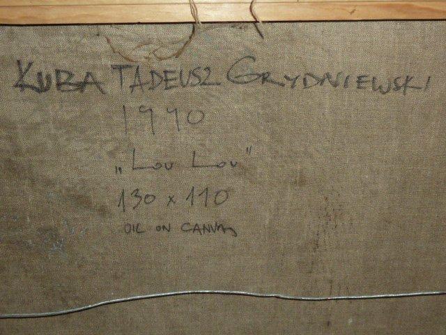"KUBA TADEUSZ GRYDNIEWSKI ABSTRACT "" LOU-LOU "" - 5"