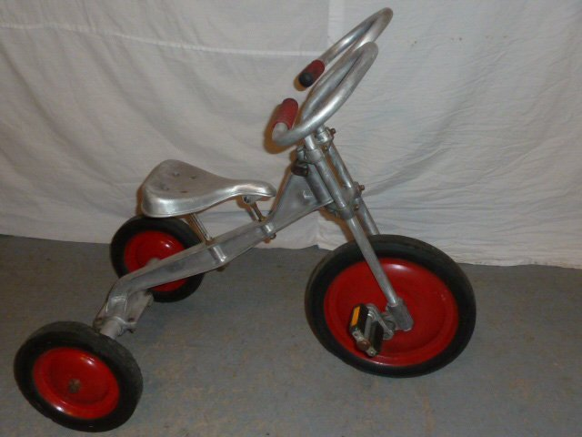 LO-BOY ALUMINUM INDUSTRIAL AGE TRICYCLE