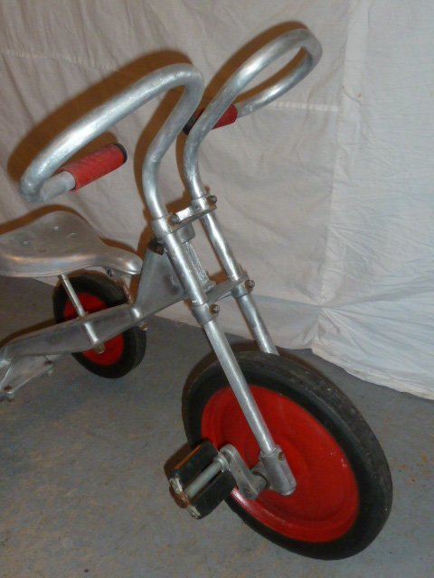 LO-BOY ALUMINUM INDUSTRIAL AGE TRICYCLE - 2
