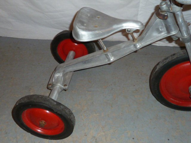LO-BOY ALUMINUM INDUSTRIAL AGE TRICYCLE - 3