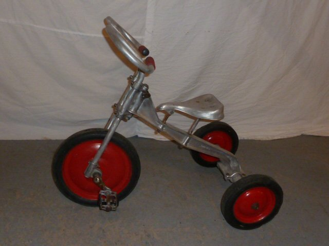 LO-BOY ALUMINUM INDUSTRIAL AGE TRICYCLE - 4