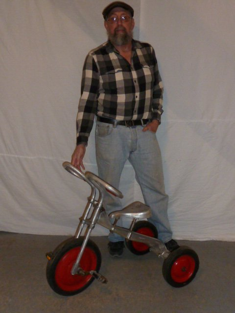 LO-BOY ALUMINUM INDUSTRIAL AGE TRICYCLE - 5