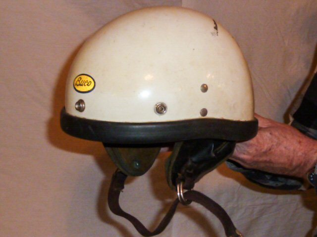 BUCO MOTORCYCLE HELMET ORIGIAL LEATHER LINER