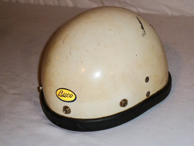 BUCO MOTORCYCLE HELMET ORIGIAL LEATHER LINER - 2