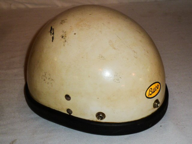 BUCO MOTORCYCLE HELMET ORIGIAL LEATHER LINER - 3