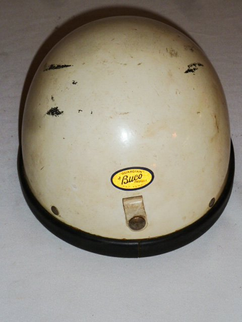 BUCO MOTORCYCLE HELMET ORIGIAL LEATHER LINER - 4
