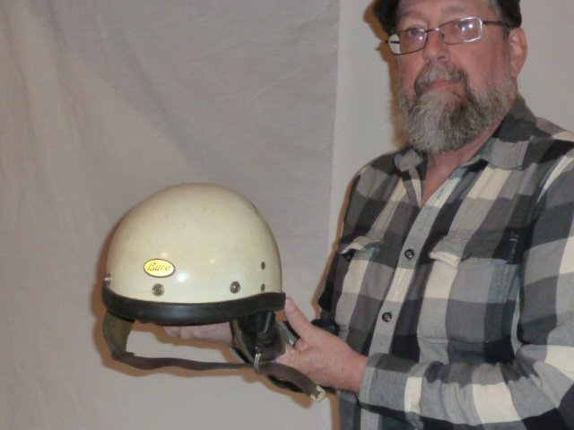 BUCO MOTORCYCLE HELMET ORIGIAL LEATHER LINER - 7
