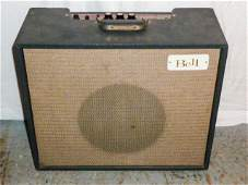 early 60s vintage tube amp Bell Model BA 15 T