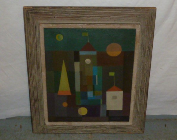Paul Kelpe (1902-1985) Abstract painting